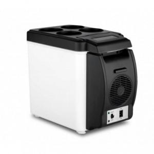 203002 Frigo portable pour voiture 2 en 1 chaud et froid de 6L alimentation 12V