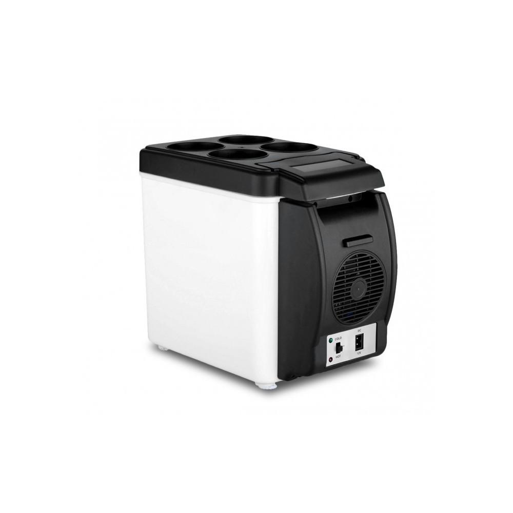 203002 frigo portable pour voiture 2 en 1 chaud et froid de 6l. Black Bedroom Furniture Sets. Home Design Ideas