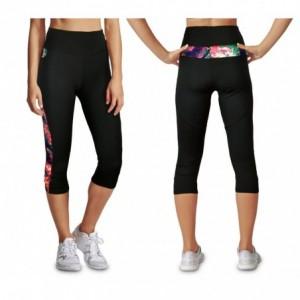 - KZ-290 Leggings de sport mollet pour femmes en tissu respirant taille haute