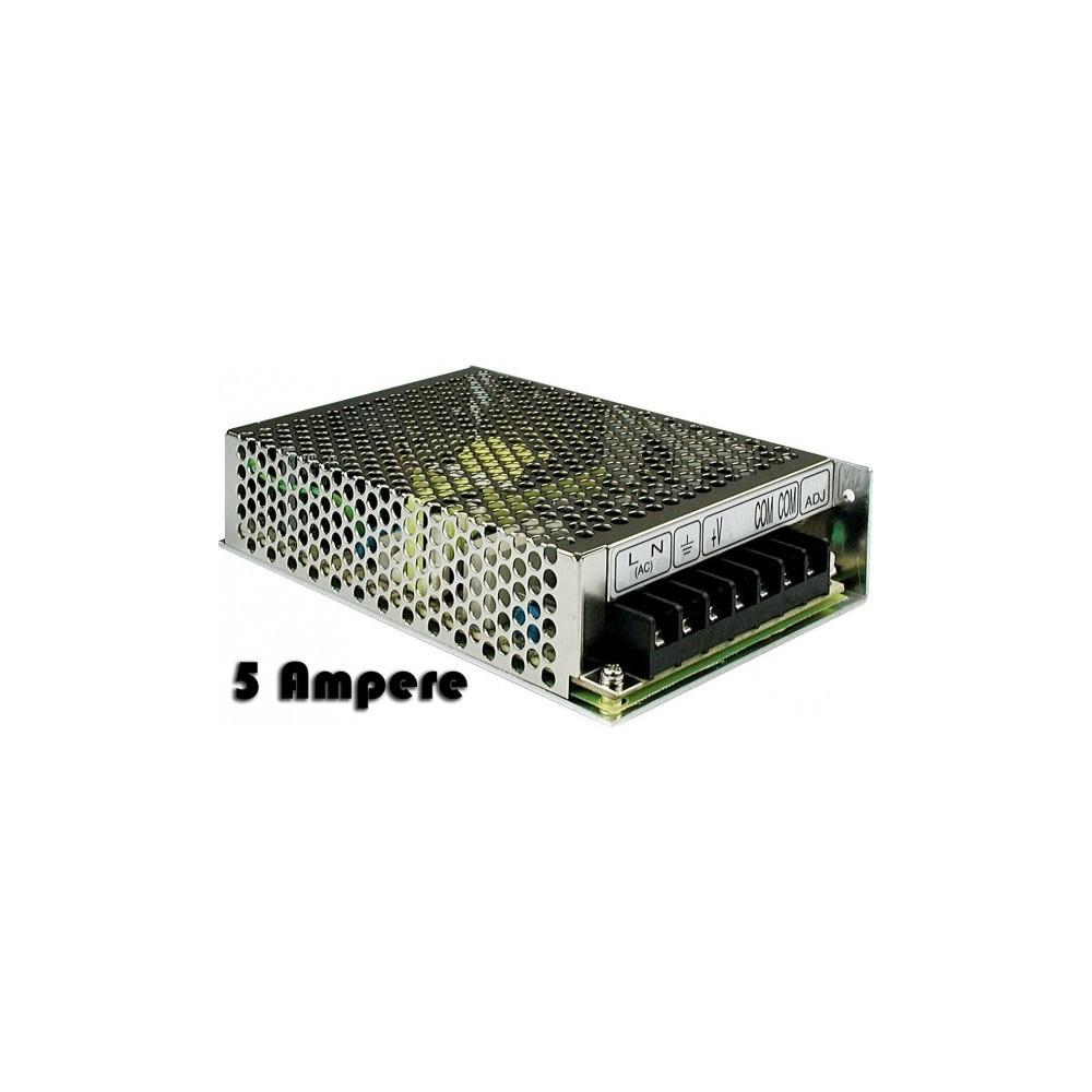 Chargeur stabilisé - interrupteur d'alimentation- 5 ampères et 12 volts