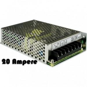 Chargeur stabilisé 12V - 20 ampères - système de surveillance