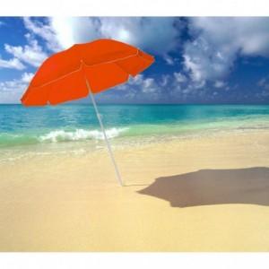 Parasol pour plage et jardin 322871 ONSHORE couleurs 165 cm de diamètre