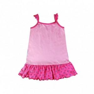 Robe enfant en coton avec Elsa et Anna LA REINE DES NEIGES 2200001968 3 à 7 ans