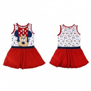 Robe MINNIE pour les filles 2200001969 tailles de coton de 2 à 6 ans