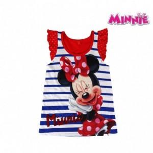 T-shirt coton enfant MINNIE 2200001940 tailles 2 à 6 ans