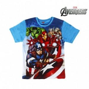 T-shirt enfant AVENGERS 2200001960 en coton taille de 6 à 10 ans
