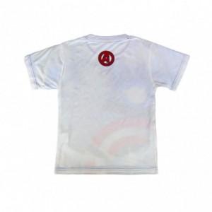 T-shirt enfant en coton Avengers 2200001986 tissu imprimé de 6 à 12 ans