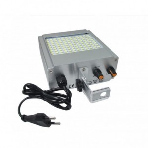 stroboscope clignotant 108 led lampe smd lumi re blanche effet disco. Black Bedroom Furniture Sets. Home Design Ideas