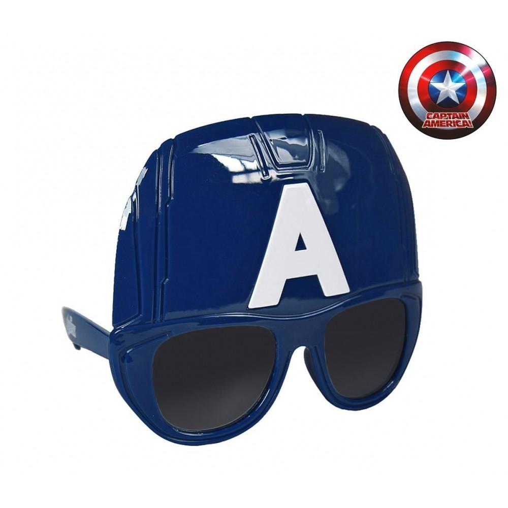Lunettes de soleil masque pour enfants captain america protection u - Masque de captain america ...