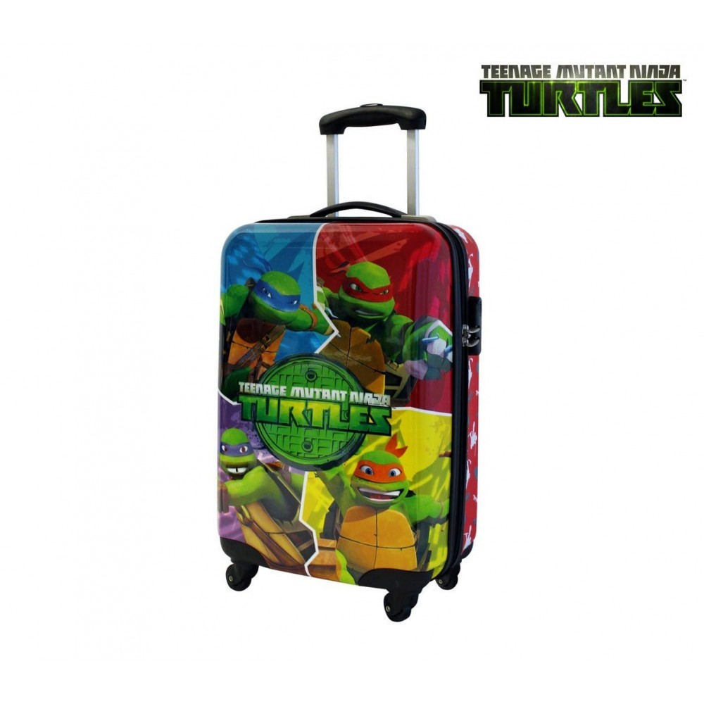2291751 Valise ABS TORTUES NINJA rigide 34 x 55 x 20 cm