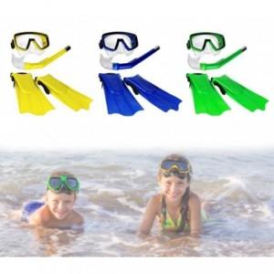 256459 Kit masque tuba et palmes pour enfants CIK E CIAK 400479 en 3 couleurs