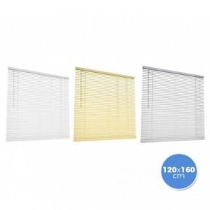 007774 Store vénitien en aluminium 120 x 160 cm pour intérieur rideau