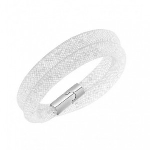 Collier ou bracelet Crystal falls effet 3D brillant avec fermeture magnétique