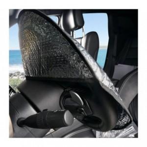055878 Couvre-volant pare-soleil en aluminium pour la voiture 49 x 44.5 cm