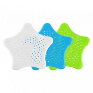 4347 Filtre pour les déchets vidange d'évier et douche en forme d'étoile de mer
