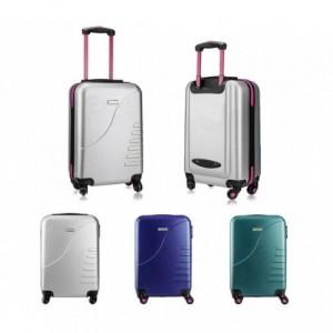 161025 Trolley rigide Pierre Cardin bagage à main 4 roulettes 38x22x55 cm