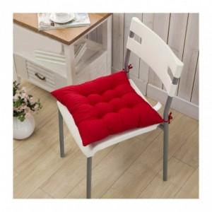 Set de 4 coussins chaise modèle LORELAI 40 x 40 cm en plusieurs couleurs