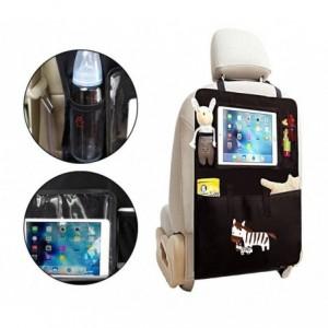 4222 Organisateur voiture multipoche avec poche transparent pour tablette