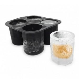4218 Moule en silicone 4 verre de glace shooters 10 x 10 x 5,5 cm