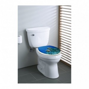 2416 Abattant pour WC universel pour la cuvette des toilettes plusieurs motifs