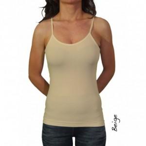Débardeur fines bretelles FINO pour femme confortable en plusieurs couleurs