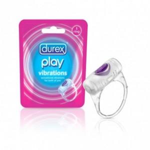 8162489 Durex Play Vibrations anneau vibrant avec batterie incluse