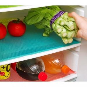 4220 Lot de 3 tapis de réfrigérateur anti-humidité fruits et légumes