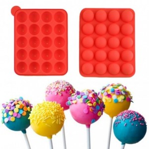 Moule gateaux - sucette- cupcakes Lolli