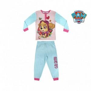 2200002278 Pyjama enfant fille imprimé Paw Patrol Skye 100 % coton de 3 à 6 ans