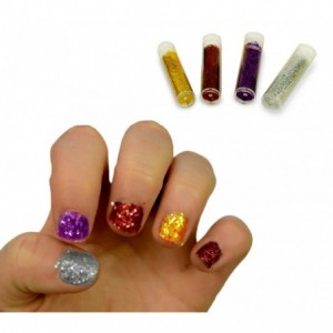 341056 Playset nail art party MAGIC NAILS 2 vernis à ongles et des accessoires