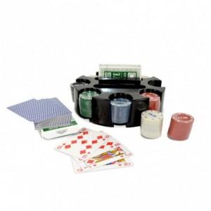 478024 Set de poker CIGIOKI 2 jeux de cartes et 96 jetons