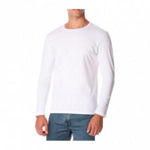 615263 T-shirt ORLANDO manches longues col montant pour homme effet thermique