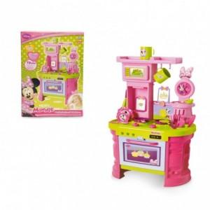 084014 Cuisine pour enfant  MINNIE avec 15 accessoires fantastiques H 72 cm