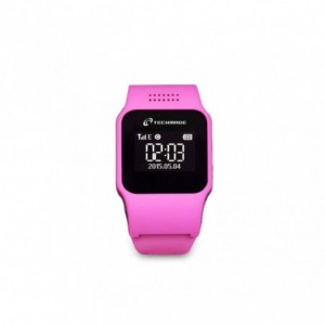 Smartwatch Techmade T-WATCH TECHWATCH-PK ROSE avec fente pour carte sim et gps