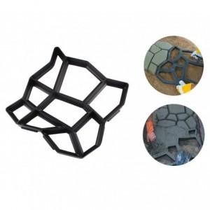 4371 Moule à pavé béton pour jardin 42,5 x 42,5 cm matrice pour béton