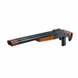 338A Fusil à bille en plastique pour enfant double canon calibre 6 mm