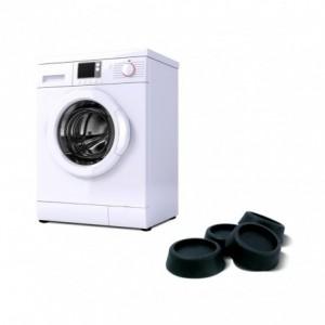 370650 Set de 4 patins anti-vibrations pour machine à laver sèche-linge ø 5,5 cm