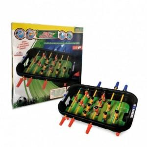 100424 Baby foot de table jouet idéal pour deux joueurs avec des balles incluses