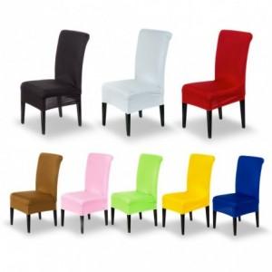 4350 Housse de chaise en tissu élastique idéal pour cuisine et salon