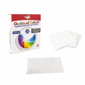 627326 Paquet de 12 lingettes anti-décoloration 25 x 11 cm pour machine à laver