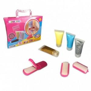 341070 set de gel paillettes pour cheveux cigioki couleur temporaire. Black Bedroom Furniture Sets. Home Design Ideas