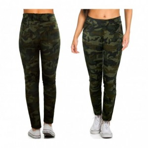 TG08-13 Pack de 3 pantalons sarouel pour femmes ass. ONLY carcan à carreaux