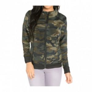 805004C Sweatshirt à zip pour hommes Huntington polo Club mod. London Noir