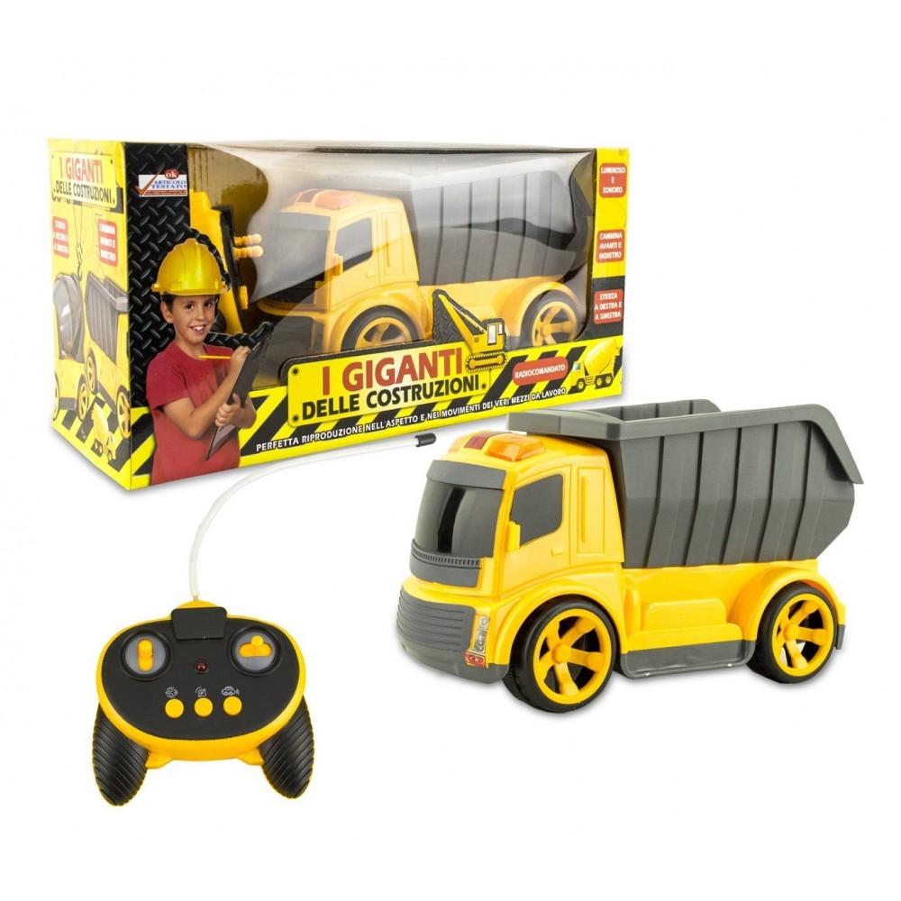 120455 camion ou b tonni re jouet avec t l commande i giganti delle co. Black Bedroom Furniture Sets. Home Design Ideas