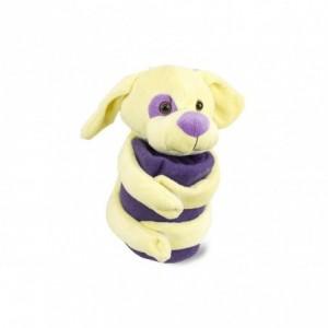 184639 Set de peluche et couverture polaire DOLLYSSIMI chien câlin 100 x 75 cm