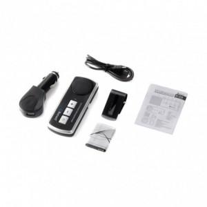 121695 Kit bluetooth MULTIPOINT SPEAKER PHONE 4.0 V mains libres durée appel 18h