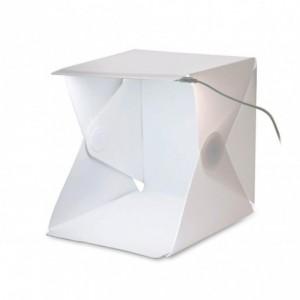 4498 Mini chambre lumineuse portable Studio box 22 x 24 x 24 cm