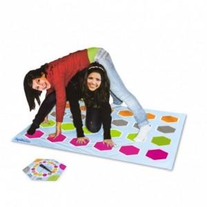 122218 Jeu de société des acrobates pour 2 joueurs ou plus avec tableau roulette