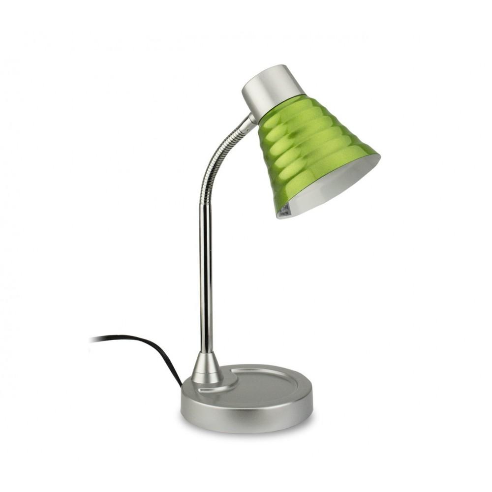 618609 lampe de bureau color e elettro gt avec bras flexible 36 cm e14. Black Bedroom Furniture Sets. Home Design Ideas