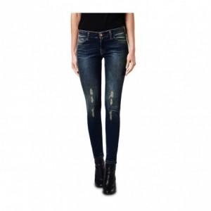 81113 Jean taille haute pour femme ANNALAURA slim fit tailles du XS au XL